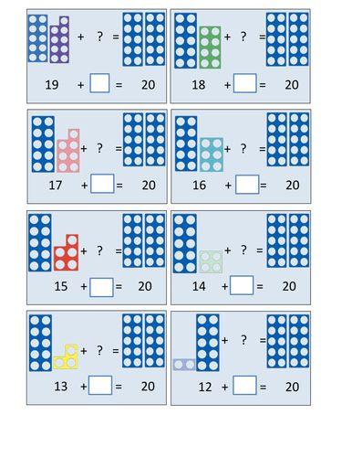 Numicon Number Bonds 20.pdf More