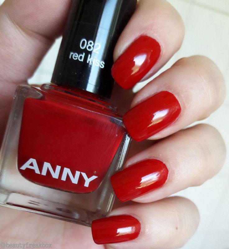 ANNY Nagellack – 082 red kiss  #anny #nagellack #nailpolish #redkiss #douglas
