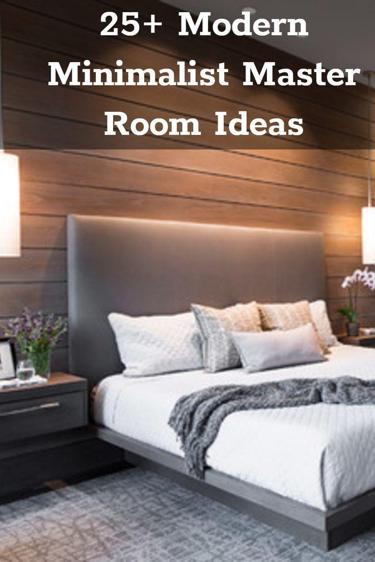 4+ Modern Minimalist Bedroom Decor Ideas  Minimalist bedroom