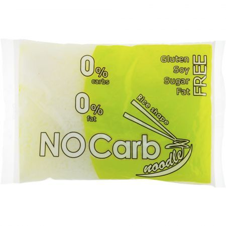 Paste cu forma de bob orez din Konjac 250g Nocarb noodle
