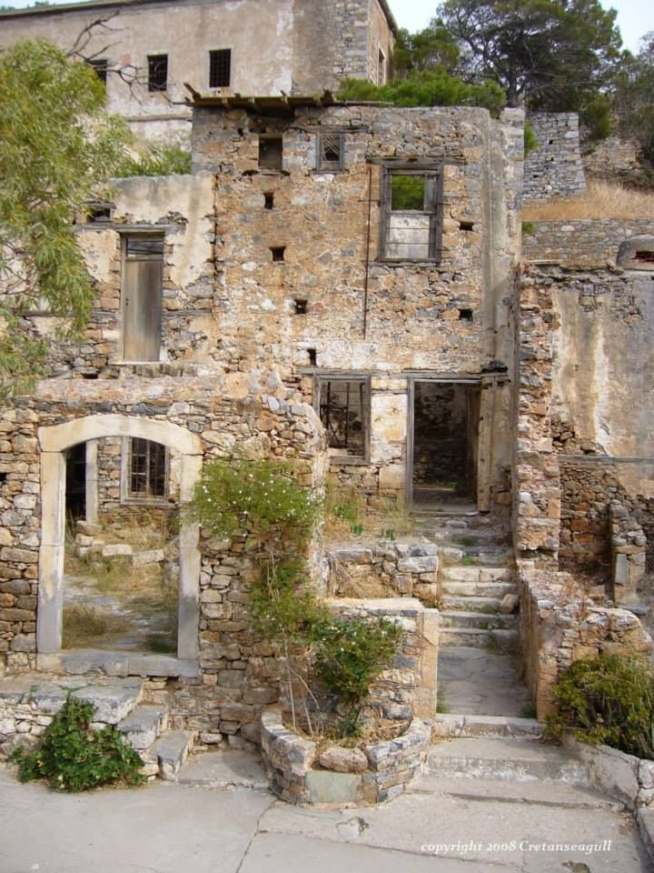 spinalonga, crete.