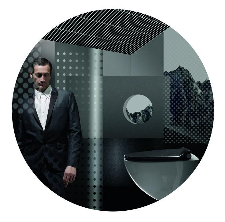 Black Tones by Pressalit, designed by Scholten & Baijings