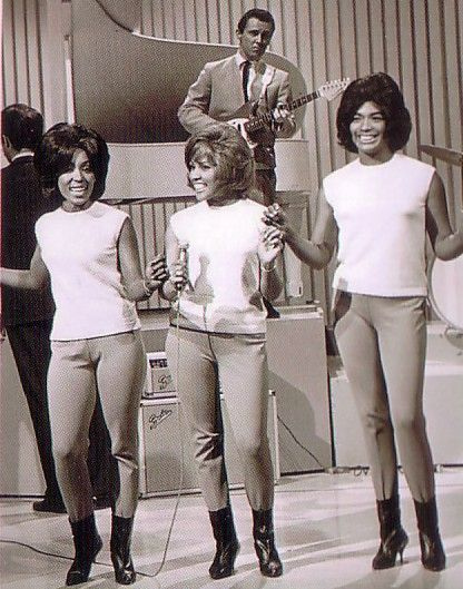 """newenglandwoodstock: """" classicladiesofcolor: """" The Blossoms Jean King, Darlene Love, and Fanita James """" DARLENE LOVE: power house voice heard on many recordings throughout the sixties. """""""