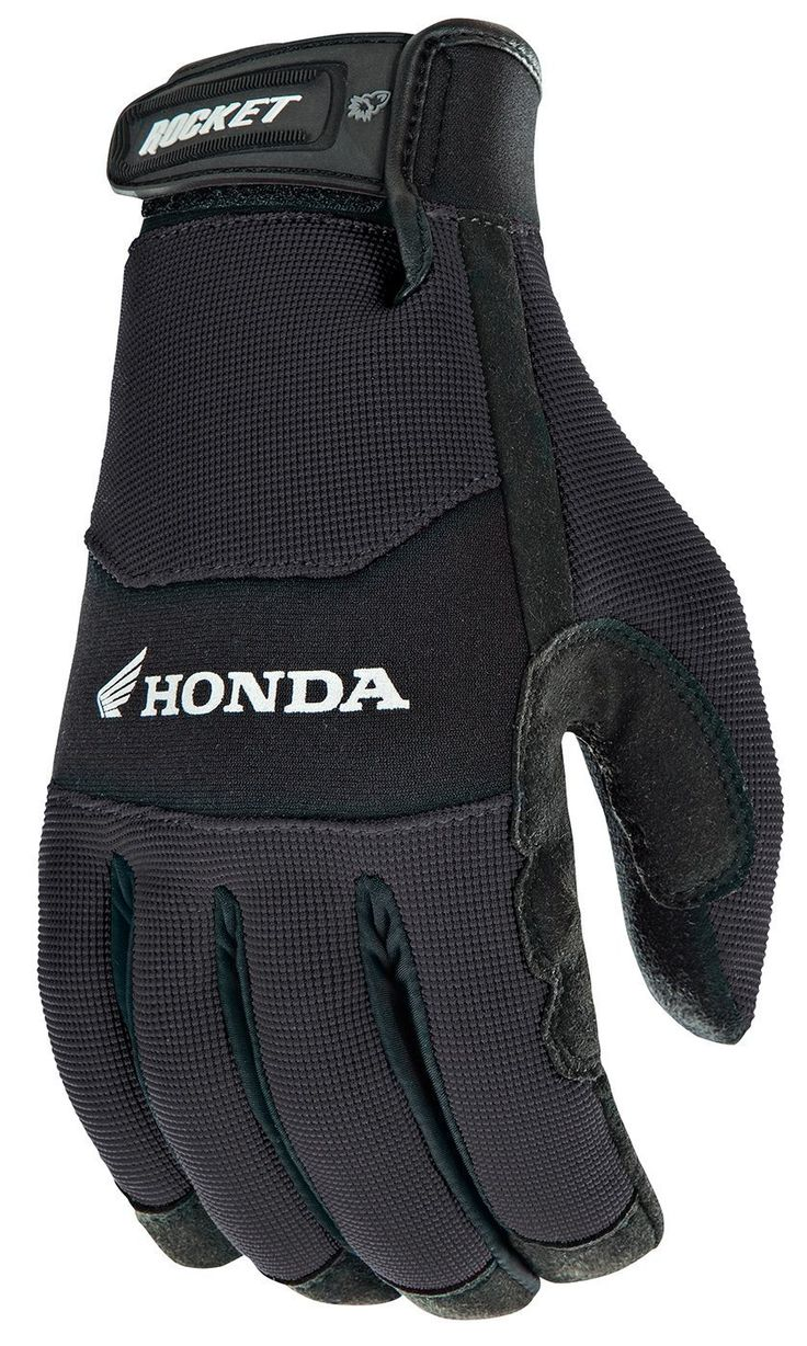 Joe Rocket Crew Touch Men's Motorcycle Riding Gloves Black