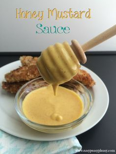Delicious Honey Mustard Sauce using only 4 Ingredients. Its great for dipping, sandwiches, wraps, and marinades.