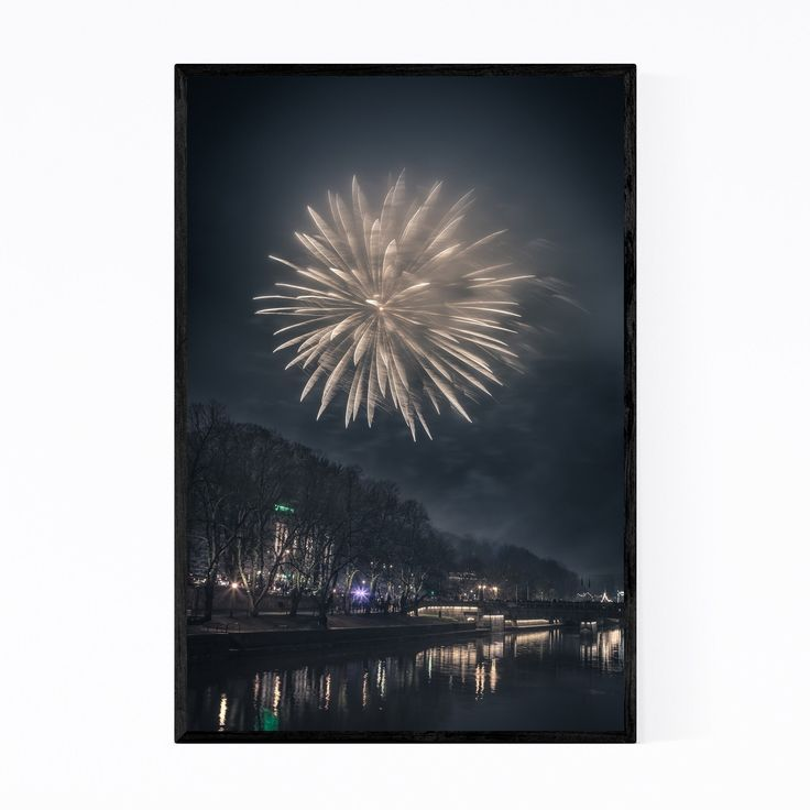 Noir Gallery Turku Finland New Year Fireworks Fram…