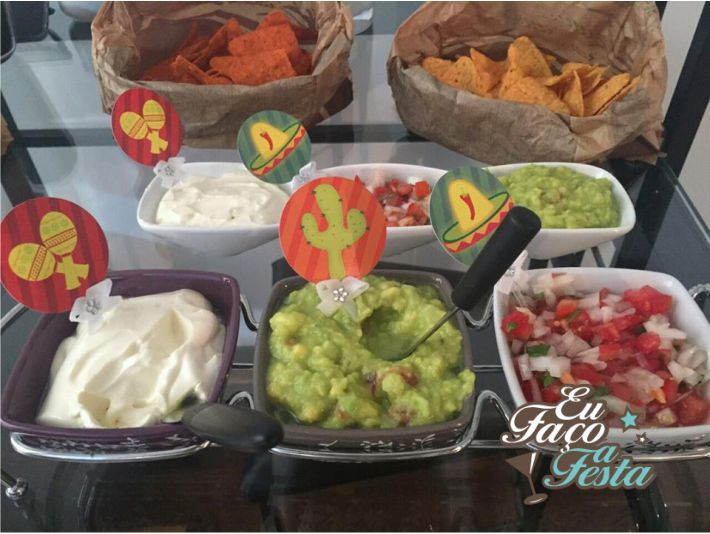 Papelaria gratuita para festa mexicana