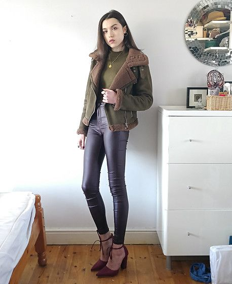 Get this look: http://lb.nu/look/8976500  More looks by Georgia X: http://lb.nu/teandtwosugars  Items in this look:  Zara Jacket, Primark Trousers   #casual #classic #street