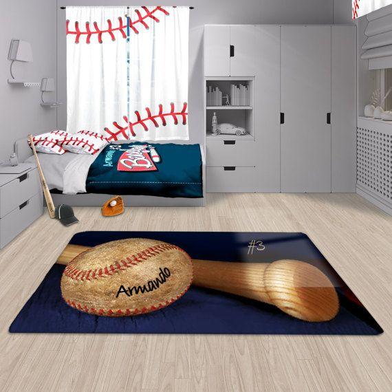 Top 10 Best Kids Bedroom Rugs: Baseball Decor, Baseball Area Rug, Personalized Rug