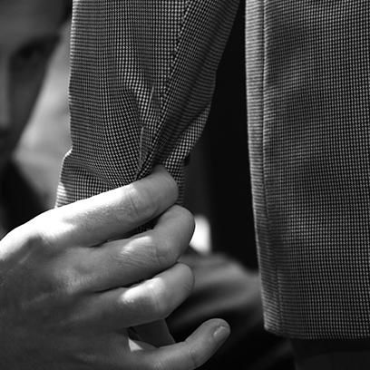 Working with their Master Tailor, each customer identifies a basic style and cut of garment that best fits their taste and body shape #mtm #style #menstyle #menswear #canali1934