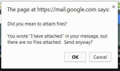 gmail just saved me from forgetting to attach my resume http