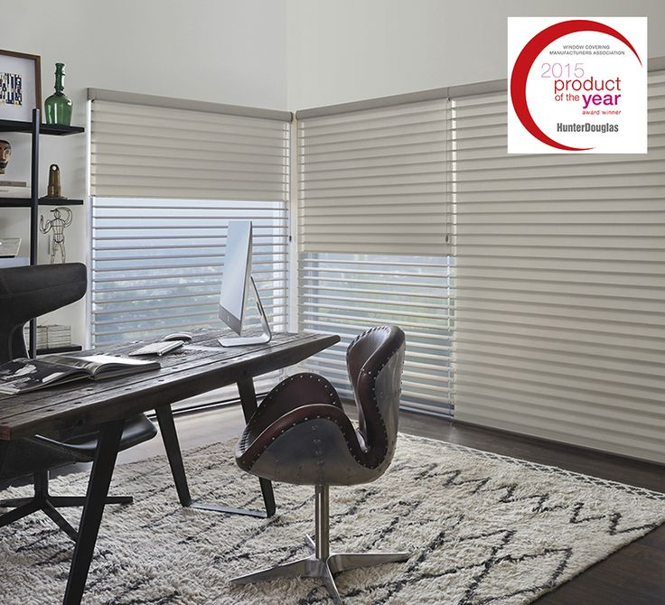 Add Award Winning Style And Room Darkening To A Home Office With  Silhouette® Duolite™