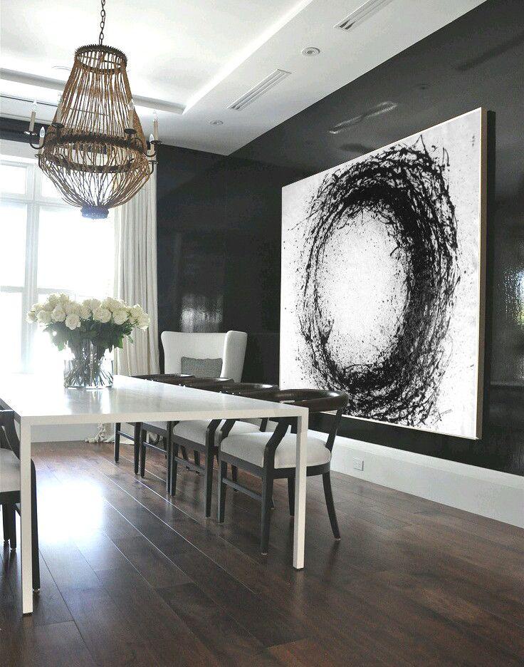 Horizontal minimalist drip painting mn21c minimal for Minimal art gallery