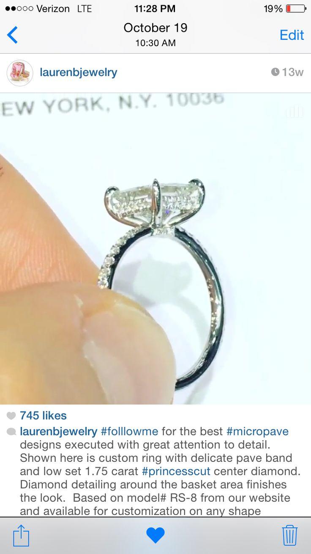 Lauren B Jewelry Dream Ringbling Blingengagement