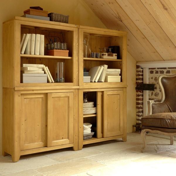 Modules et bibliothèques basses - Collection Bellwood - Copyright Interior's France