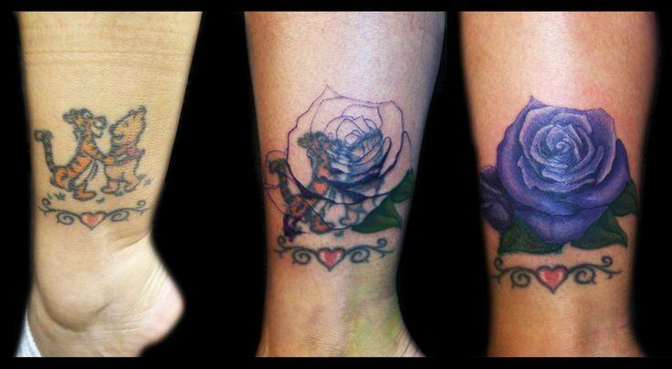 38 besten rose ankle tattoo cover up bilder auf pinterest. Black Bedroom Furniture Sets. Home Design Ideas