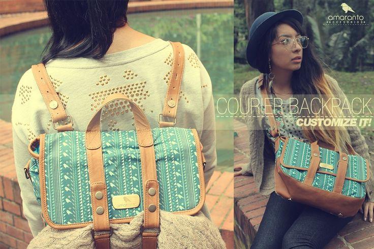 Courier backpack colección primavera-verano 2014