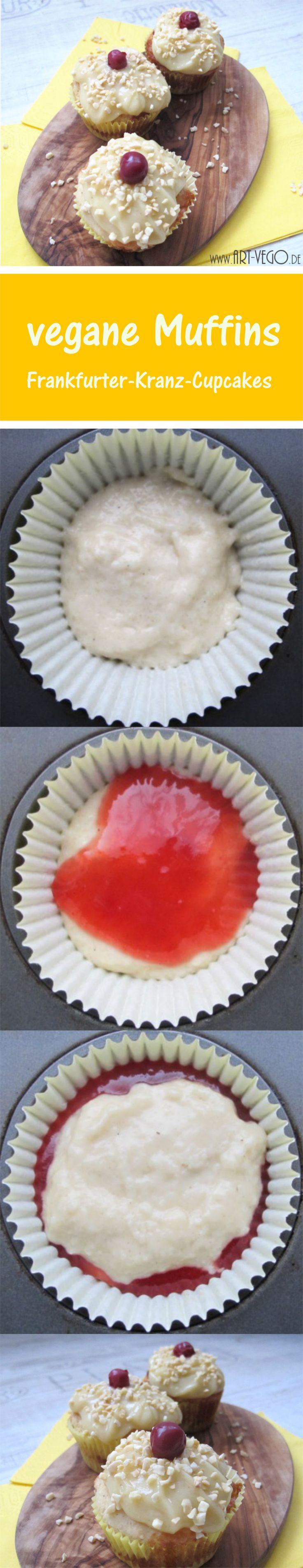 vegane Frankfurter-Kranz-Cupcakes (deutsche Version)
