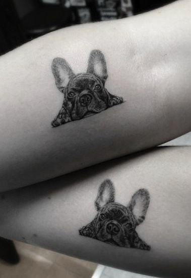 cute dog by Dr.Woo | animal tattoos | egodesigns                              …