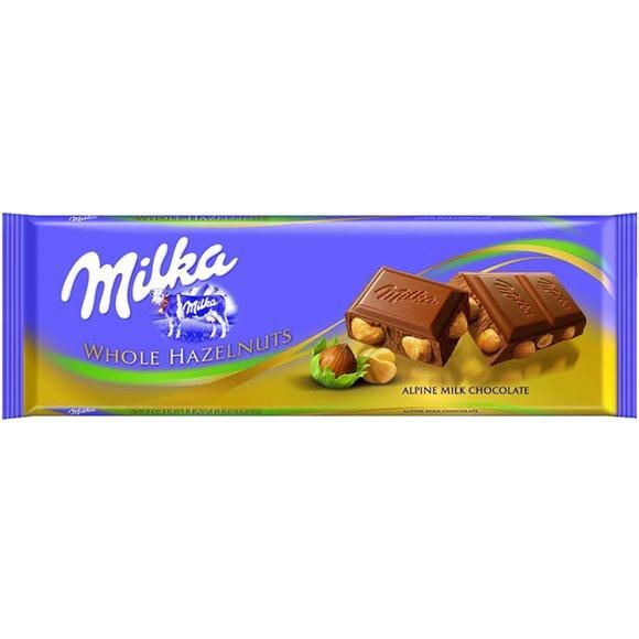 Milka #milk #chocolate with #hazelnuts tablet #confectionery #candy #milka #snacking #sharing #shopping #hellenicdutyfreeshops #travelexclusive