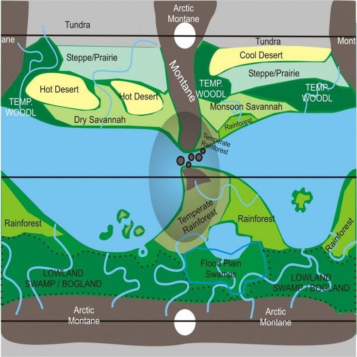 Biome Map Coloring Worksheet Fresh north America Biome Map ...