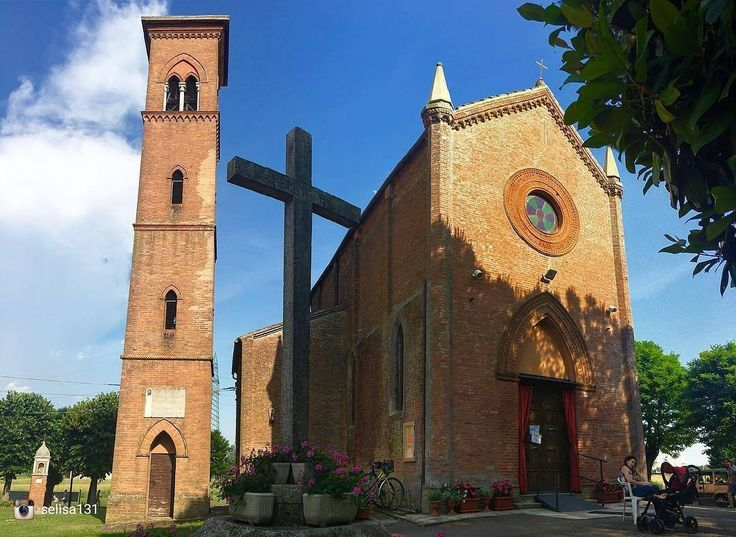 Oggi ripostiamo: @selisa131 - Selezionatore: @j_drake_b - Admin: @skynet70 - hashtag #igersferrara Luogo: Santuario della Beata Vergine del Poggetto -  ______ #igersferrara #igersemiliaromagna #igersitalia #turismoer #myferrara #visitferrara #ferrara #turismoferrara #comunediferrara #provinciaferrara