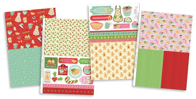 FREE Bake & Be Merry papers to download from issue 94! | Papercraft Inspirations