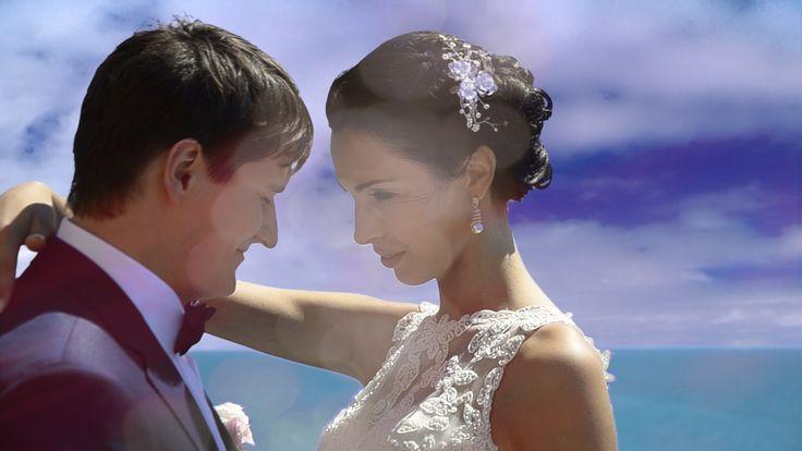 Волшебная свадьба на море в Италии. Свадьба за границей. Ксения + Никита...