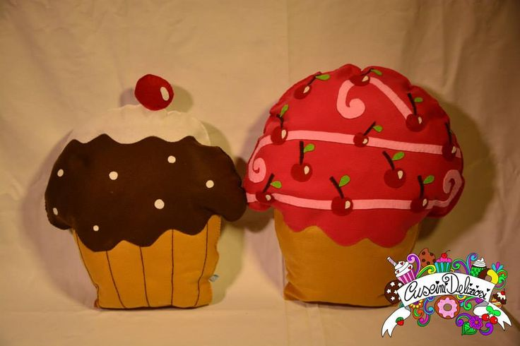 cupcake pillow #cuscinideliziosi