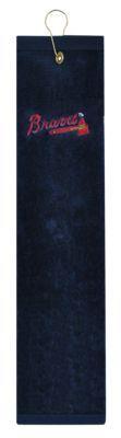 McArthur Sports MLB Embroidered Tri-Fold Golf Towel - Atlanta Braves