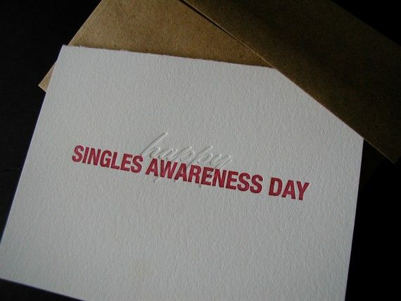 single for valentine's day