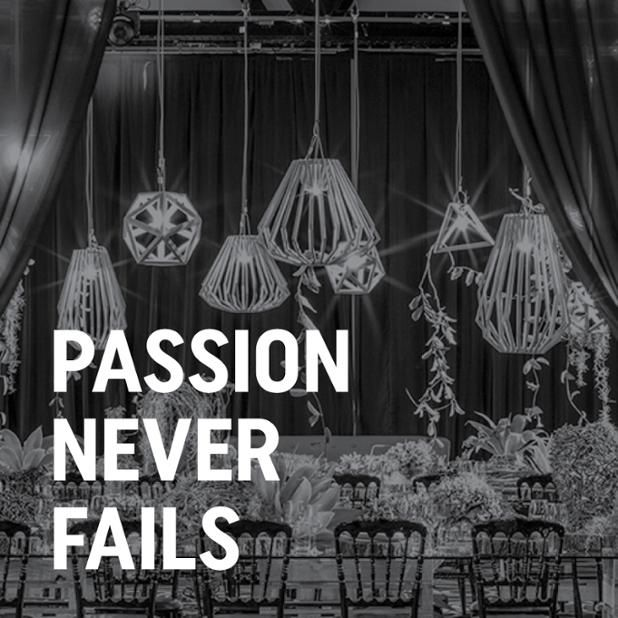 Passion Never Fails! Business Quotes