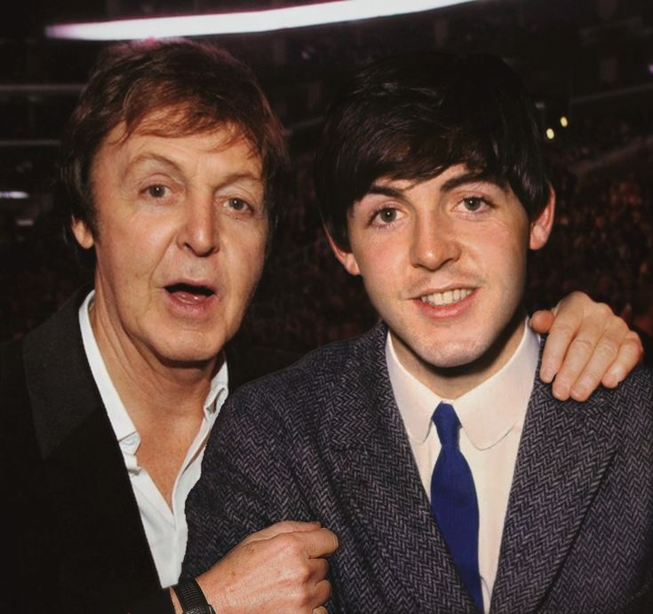 Sir Paul with Paul McCartney