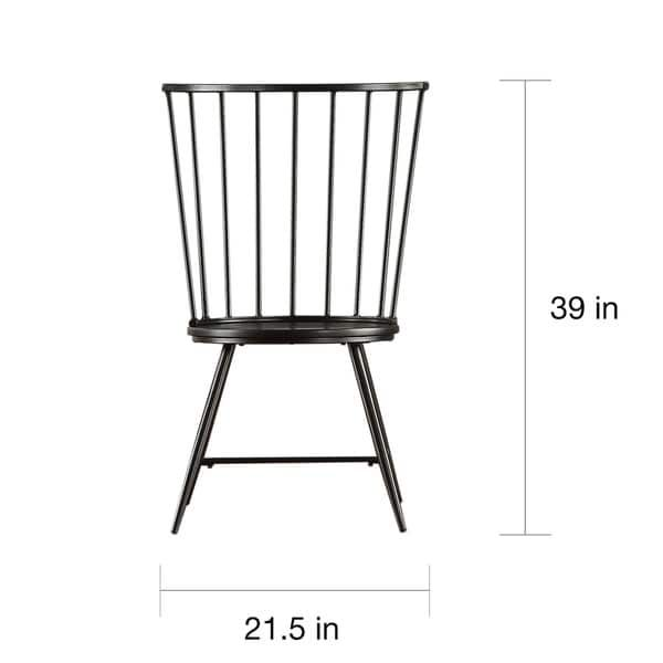 Truman High Back Windsor Classic Dining Chair (Set of 2) iNSPIRE Q Modern