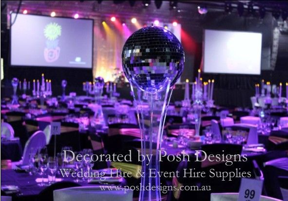 #discotheme #discotablecentre #corporate #event #theming available at #poshdesignsweddings - #sydneyfunctions #southcoastfunctions #wollongongfunctions #canberrafunctions #southernhighlandfunctions #campbelltownfunctions #penrithfunctions #bathurstfunctions #illawarrafunctions All stock owned by Posh Designs Wedding & Event Supplies – lisa@poshdesigns.com.au or visit www.poshdesigns.com.au or www.facebook.com/.poshdesigns.com.au