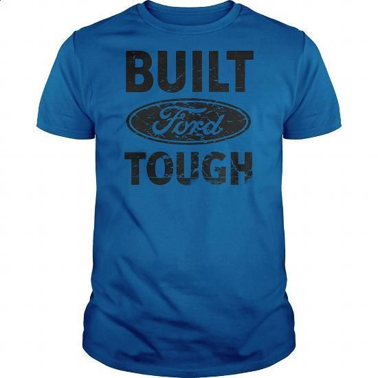 BUILT FORD TOUGH - #couple gift #hoodies/jackets