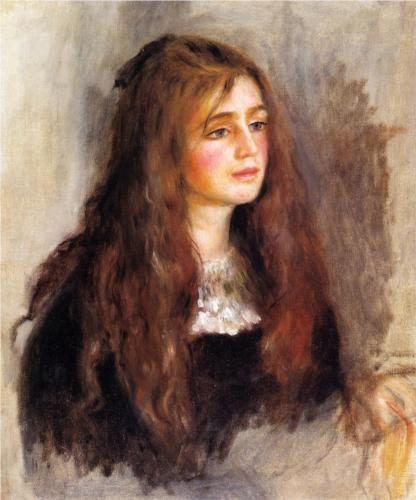 Julie Manet - Pierre-Auguste Renoir