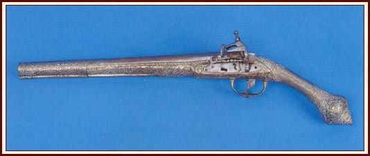 Bouboulina's pistol.