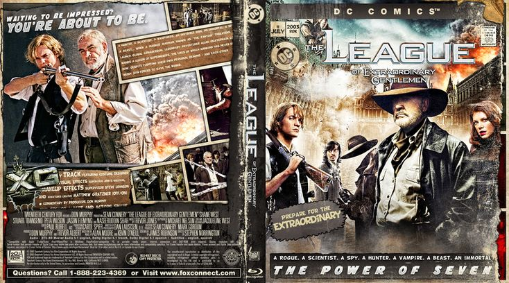 League Of Extraordinary Gentelmen, The Blu-ray Custom Cover