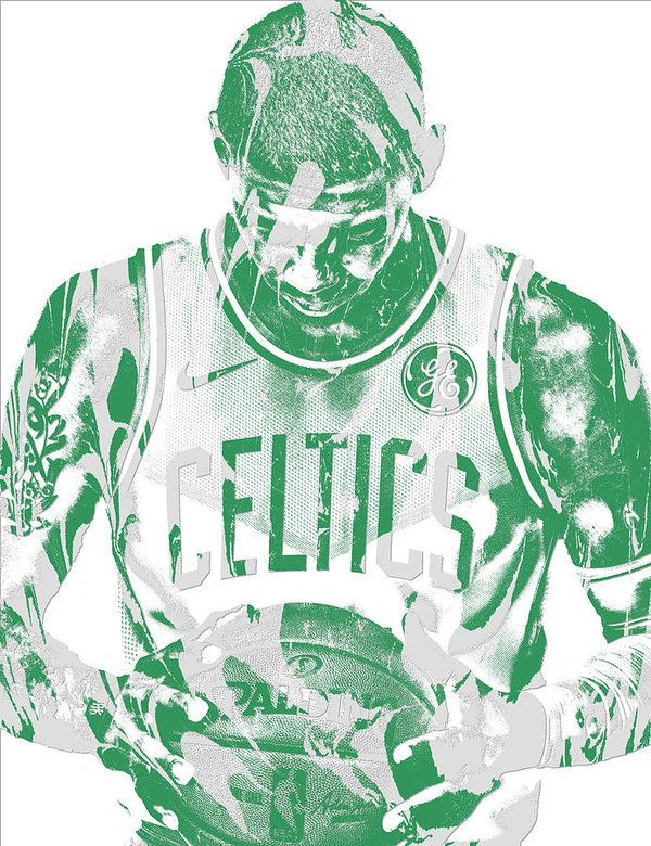 Kyrie Irving Boston Celtics Pixel Art 5 Art Print by Joe Hamilton. All prints are professionally printed, packaged, and shipped within 3 - 4 business days. Choose from multiple sizes and hundreds of frame and mat options.