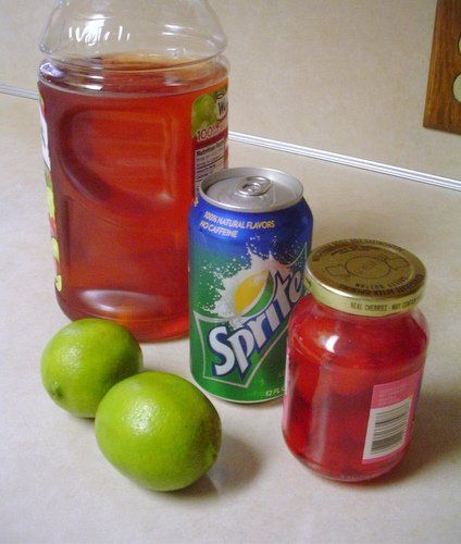 Sonic Cherry Limeade Recipe. I Will do this someday!