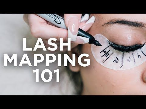 lash mapping techniques for beginners  youtube  lashes