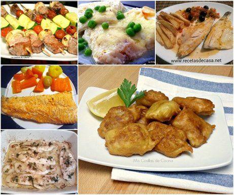 Hoy comemos pescado, 6 recetas estupendas