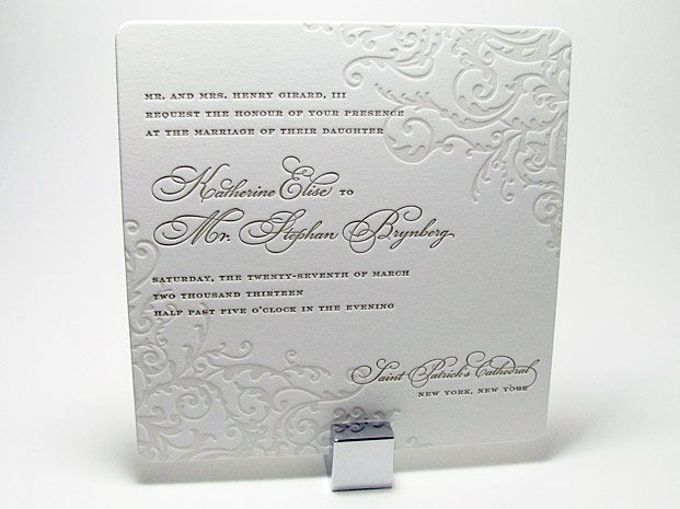 Elegant Wedding Invitations with Crystals | Spark Impress Luxury Wedding Invitations | Digby & Rose Invitations DC