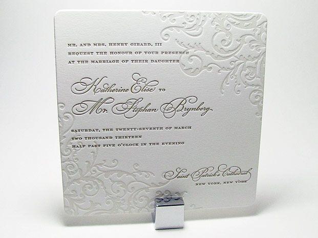 Elegant Wedding Invitations with Crystals | Spark Impress Luxury Wedding Invitations | Digby & Rose Invitations DC