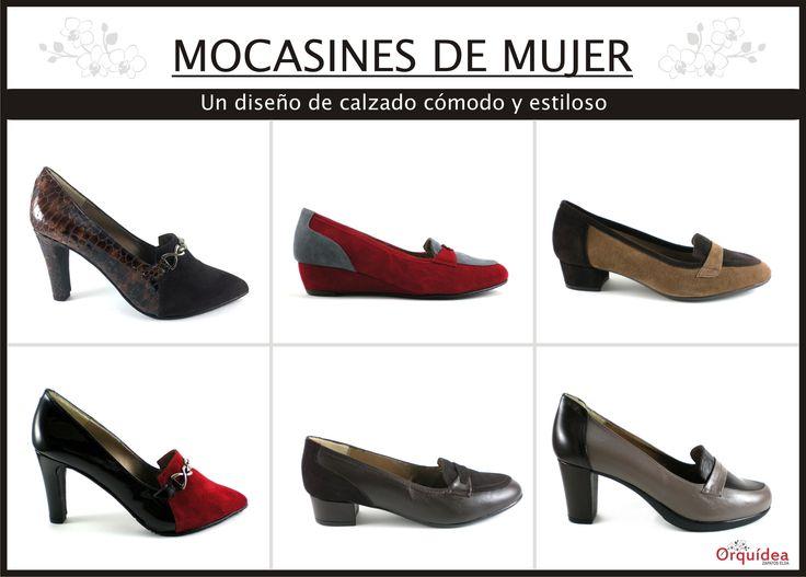Orquídea #zapatoselda 2014. #Mocasines...con #tacón o sin tacón definen carácter y #elegancia. Encuéntralos aqui: http://zapatoselda.com/es/buscar?controller=search&orderby=position&orderway=desc&search_query=mocasín&submit_search