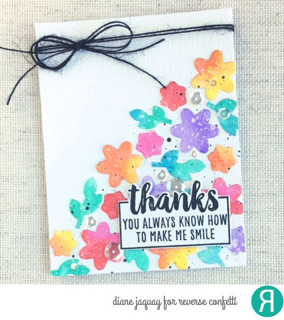How To Make Friendship Cards Part - 25: Card By Diane Jaquay. Reverse Confetti Stamp Set And Coordinating Confetti  Cuts: Whole Lotta · Confetti CardsFriendship CardsMaking ...