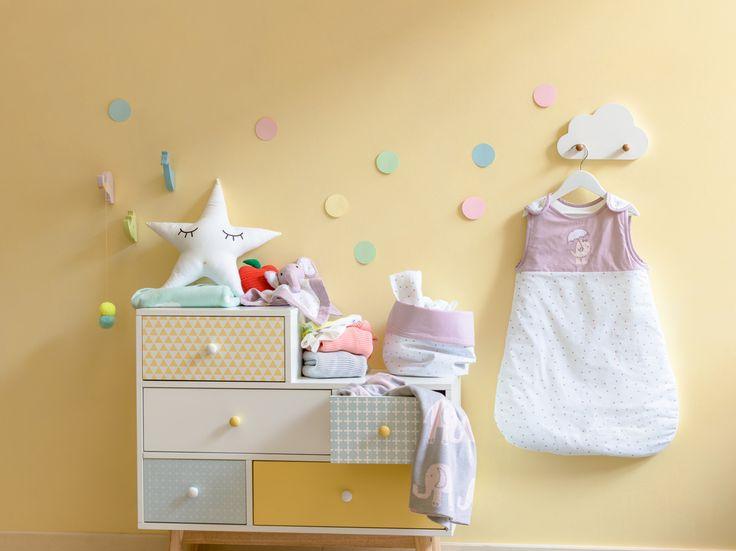 Micasa Kinderzimmer mit Kommode KEN & Schlafsack SOPHIA