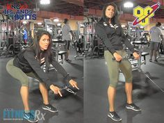 Cable Stiff-leg Deadlift - slightly different take on pain old deadlifts to switch up your routine and since this version creates a constant burn in legs, it's a very effective alternative