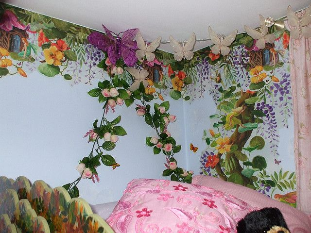 17 Best Images About Tinkerbell Bedroom On Pinterest